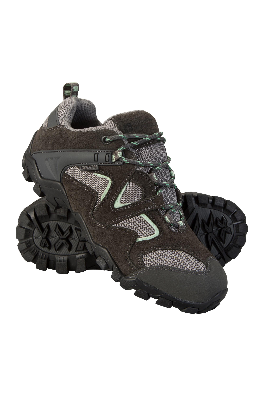 Curlews Womens Waterproof Shoes - Grey