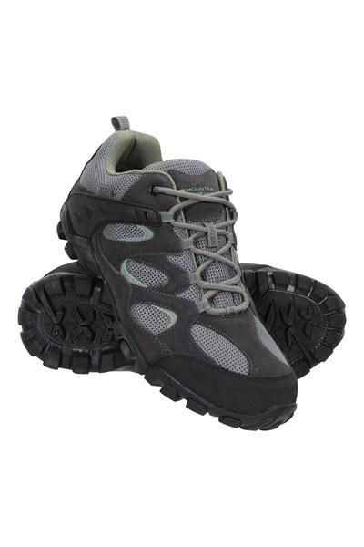 Curlews Womens Waterproof Shoes - Green