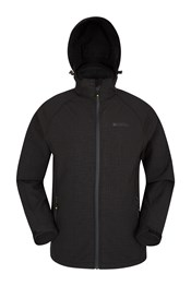 Exodus Mens Printed Softshell Jacket