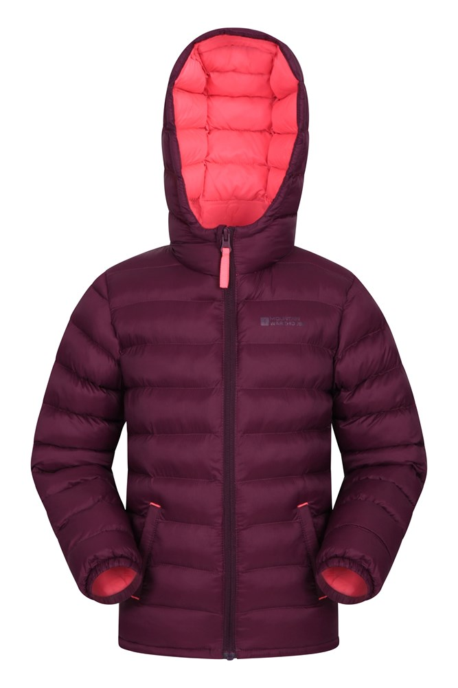 Mountain Warehouse Seasons Jungen Steppjacke blau, gelb, grau, khaki, orange, rosa, schwarz, türkis | 05057634305723