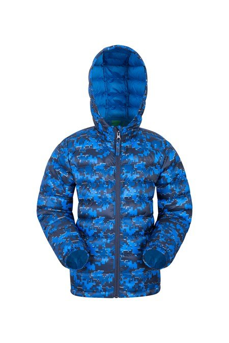 025352 PRINTED SEASONS BOYS PADDED JACKET