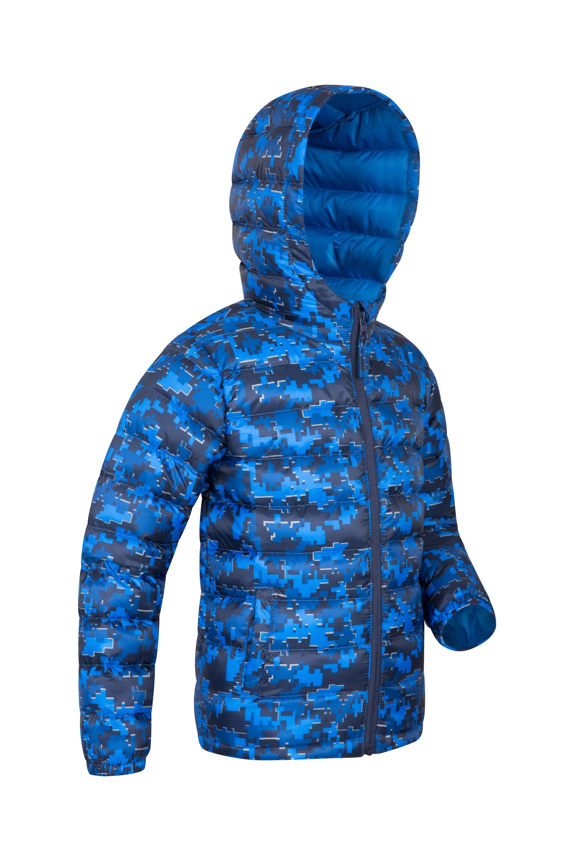 Mountain Warehouse Seasons Printed Kids Jacket Padded Winter Coat