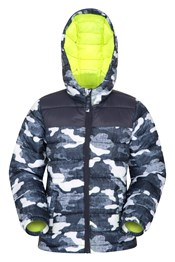 Seasons Gemusterte Kinder Steppjacke