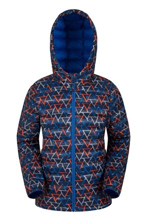 Printed Seasons Boys Padded Jacket