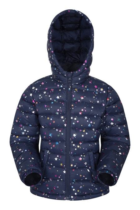 025352 PRINTED SEASONS KIDS PADDED JACKET