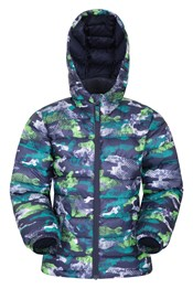 Seasons Printed Kids Water Resistant Padded Jacket