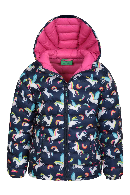 Waterproof Mountain Warehouse Pakka Kids Rain Jacket Girls /& Boys