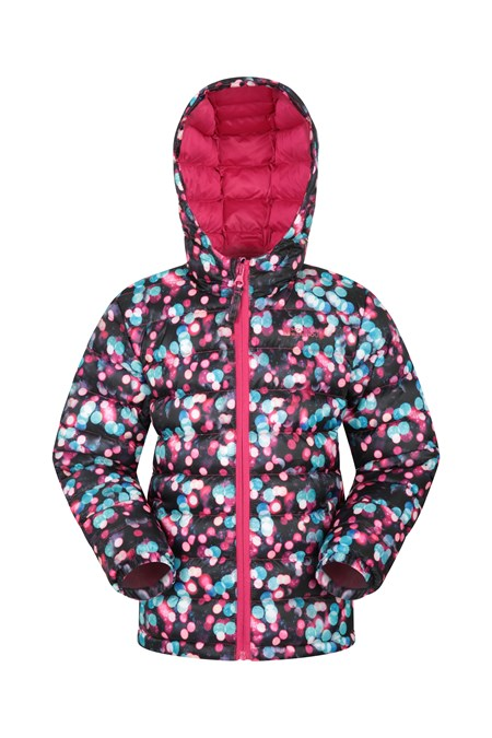025353 PRINTED SEASONS GIRLS PADDED JACKET