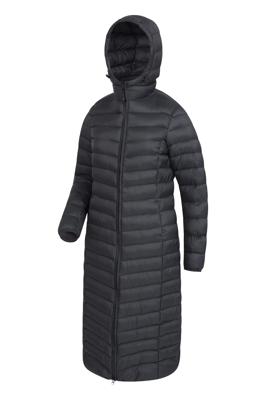 Florence Womens Extra Long Padded Jacket