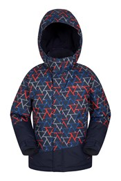 Traverse Kids Printed Ski Jacket
