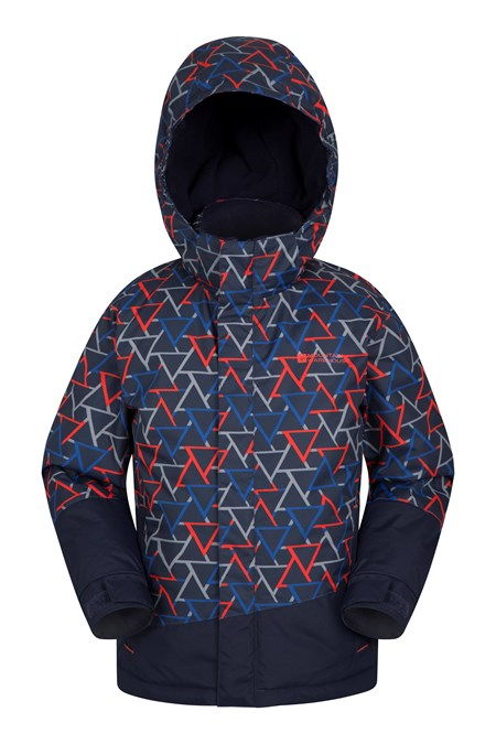 025368 TRAVERSE KIDS PRINTED SKI JACKET