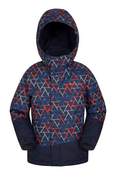 757d852f Traverse Kids Printed Ski Jacket | Mountain Warehouse GB
