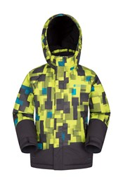 Slope Kids Printed Ski Jacket