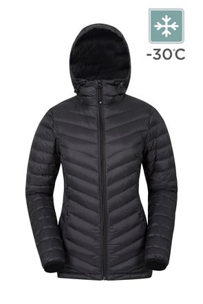 Featherweight Down Womens Hooded Jacket