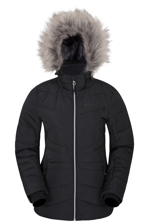 Arctic Air Womens Padded Ski Jacket - Grey