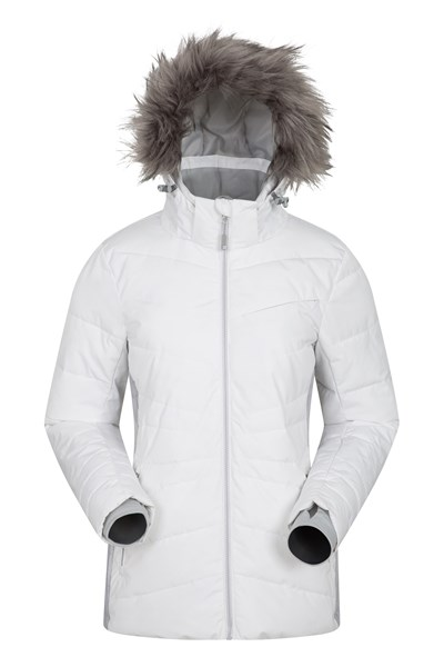 Arctic Air Womens Padded Ski Jacket - White