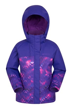 Flurry Kids Printed Ski Jacket