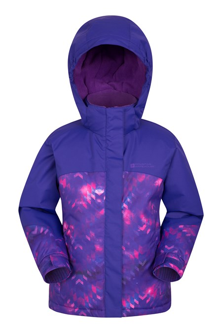025381 FLURRY PRINTED SKI JACKET