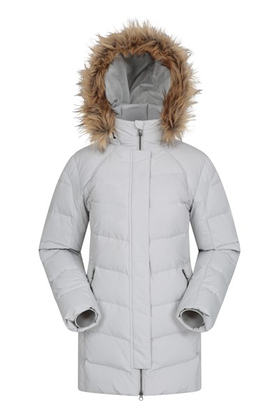 Isla II Womens Down Jacket - Beige