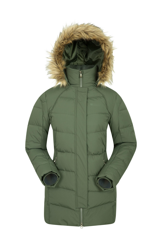 Isla II Womens Down Jacket - Green