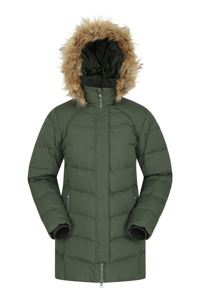 Isla II Womens Down Jacket - Green