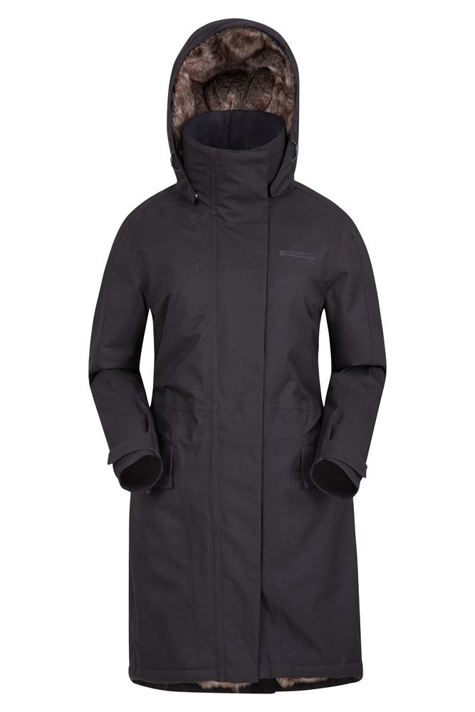Dales Fur Lined Womens Waterproof Jacket | Mountain Warehouse GB