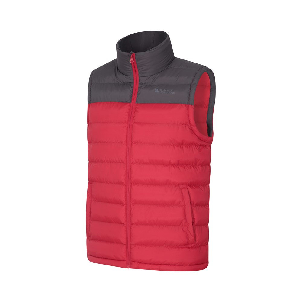 Mountain Warehouse Seasons Padded Gilet Warm with Water-resistant