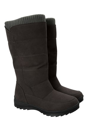 Davos Womens Pull-On Snow Boots