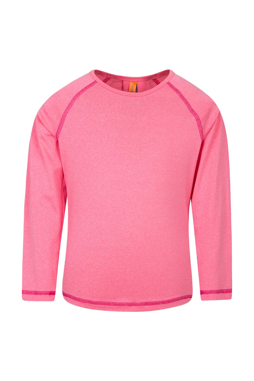Ochra Stripe Girls Long Sleeved Top - Pink
