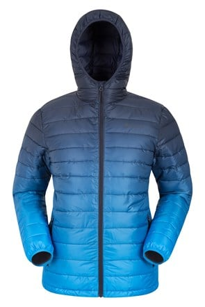 Ombre Padded Mens Jacket