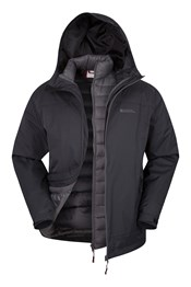 Snowburst Down 3 in 1 Mens Jacket