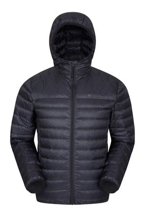 Featherweight Printed Mens Down Jacket