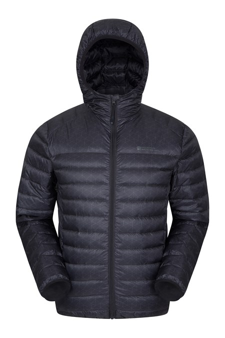8fd16fb643f Featherweight Printed Mens Down Jacket
