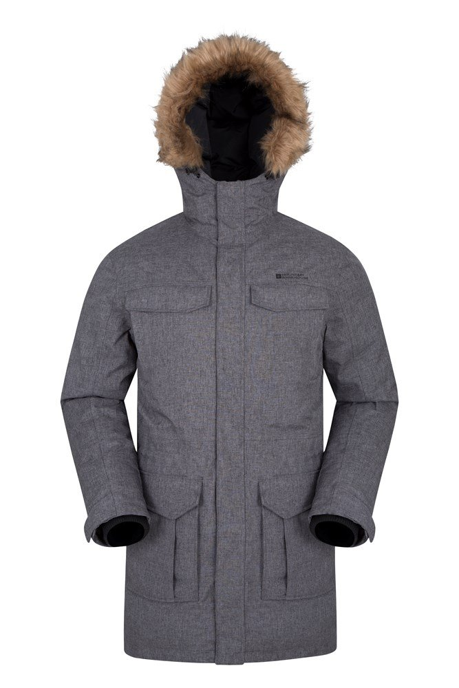 Sub Zero Mens Down Padded Jacket - Grey