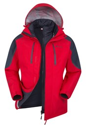 Zenith Extreme II Mens 3-in-1 Jacket