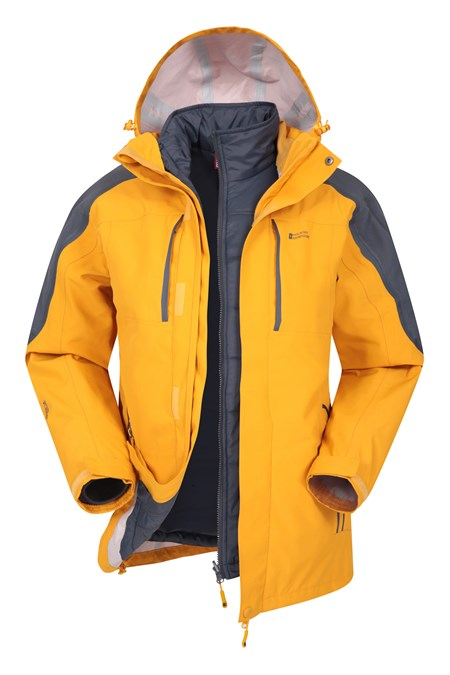 025415 ZENITH II 3 IN 1 WATERPROOF JACKET