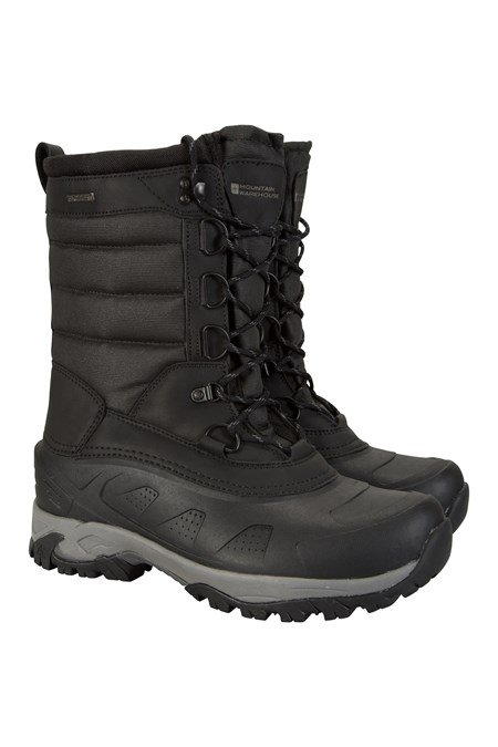 025418 SNOW PEAK EXTREME THERMAL WATERPROOF SNOW BOOT
