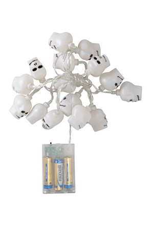 Halloween Skull String Lights