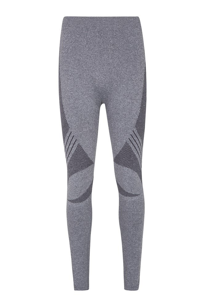 Off-Piste Seamless Mens Pants - Grey