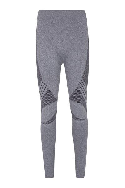 Off-Piste Seamless Mens Pants - Grey