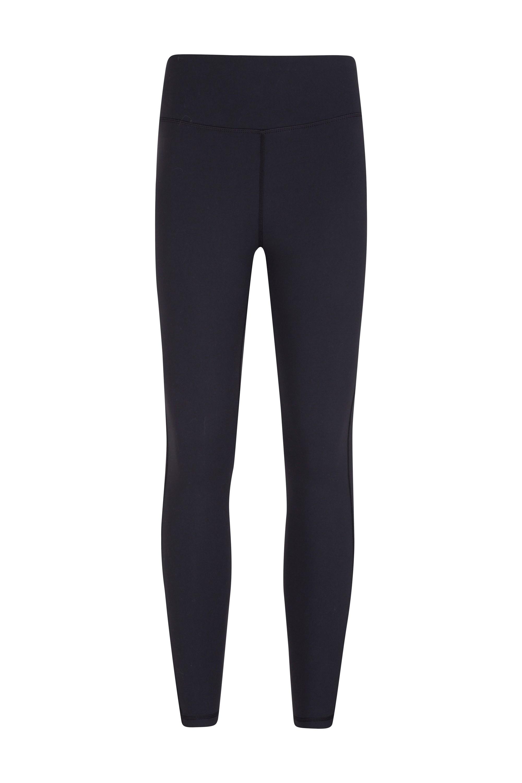 Soft Stretch Womens Full Length Leggings - Black