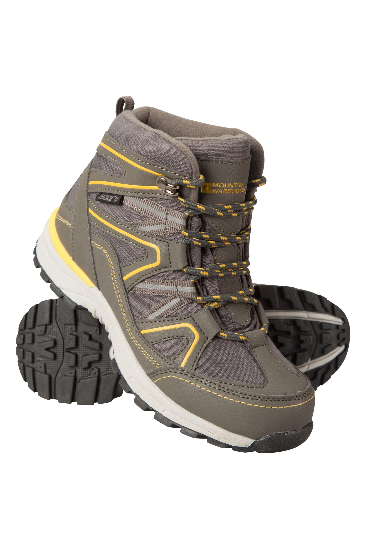 Steve Backshall Stride Waterproof Kids Walking Boots - Yellow