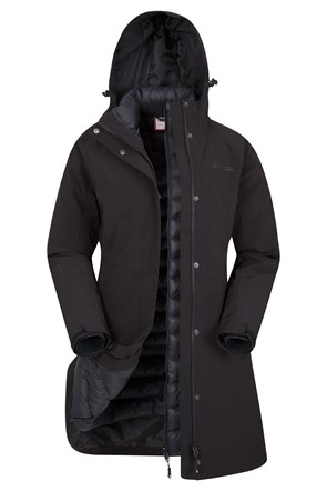Alaskan Womens 3 in 1 Long Jacket