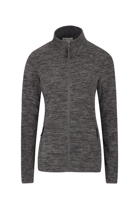 025442 SNOWDON MELANGE WOMENS FULL ZIP