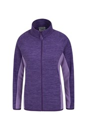 Snowdon Melange Womens Full Zip