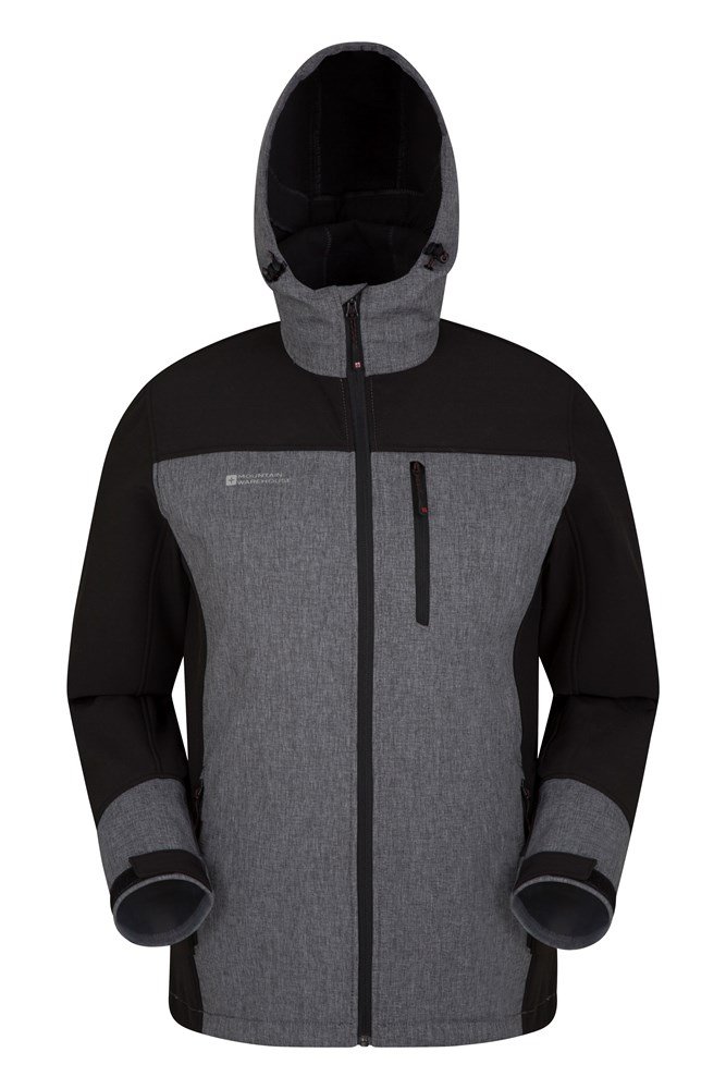 Illuminate Reflective Mens Jacket - Black
