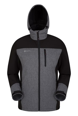 Illuminate Reflective Mens Softshell Jacket