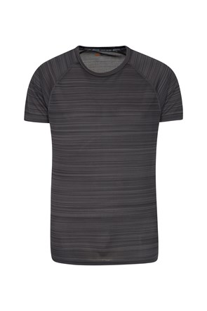 Endurance Striped Mens T-Shirt