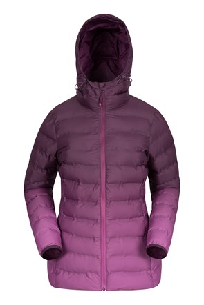 Augusta Ombre Womens Padded Jacket