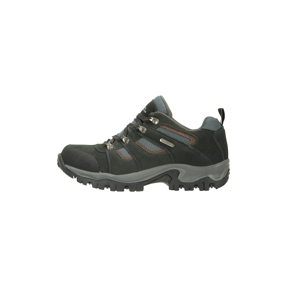 Mountain-Warehouse-Mens-Voyage-Waterproof-Walking-Shoes-Hiking-Trainers thumbnail 12